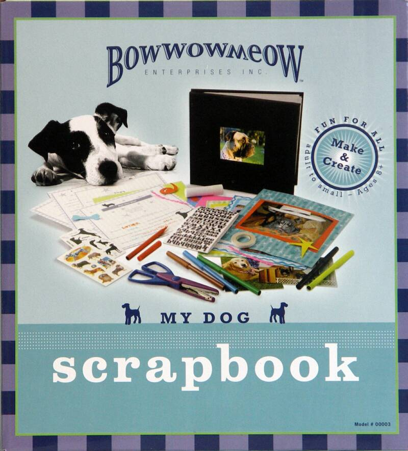 dog scrapbook kit
