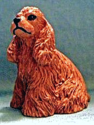 dollhouse American cocker spaniel brown