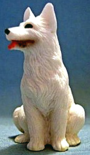 dollhouse White German Shepherd